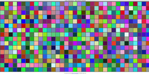 Color Tile Board